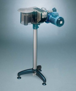 Motorized driving head with rotary table diam. 250 mm